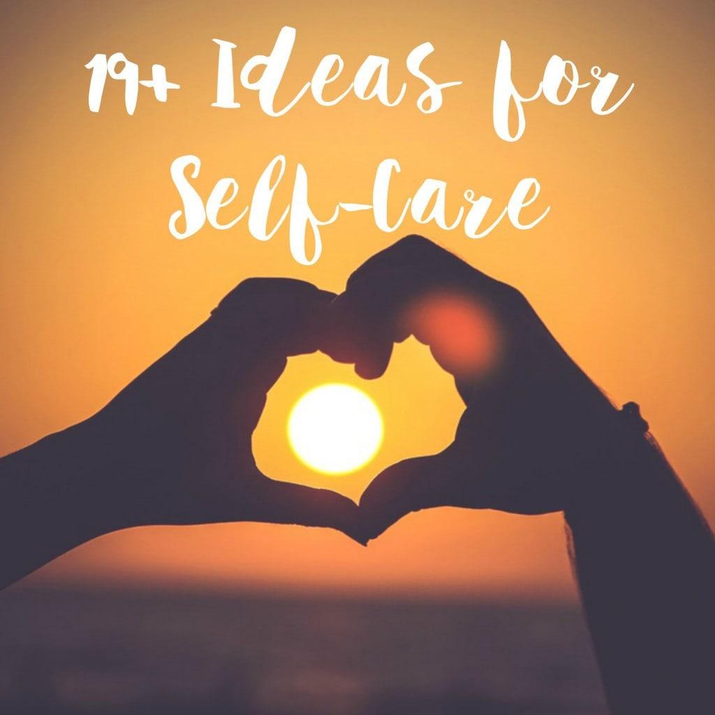 19+ideasselfcaretext