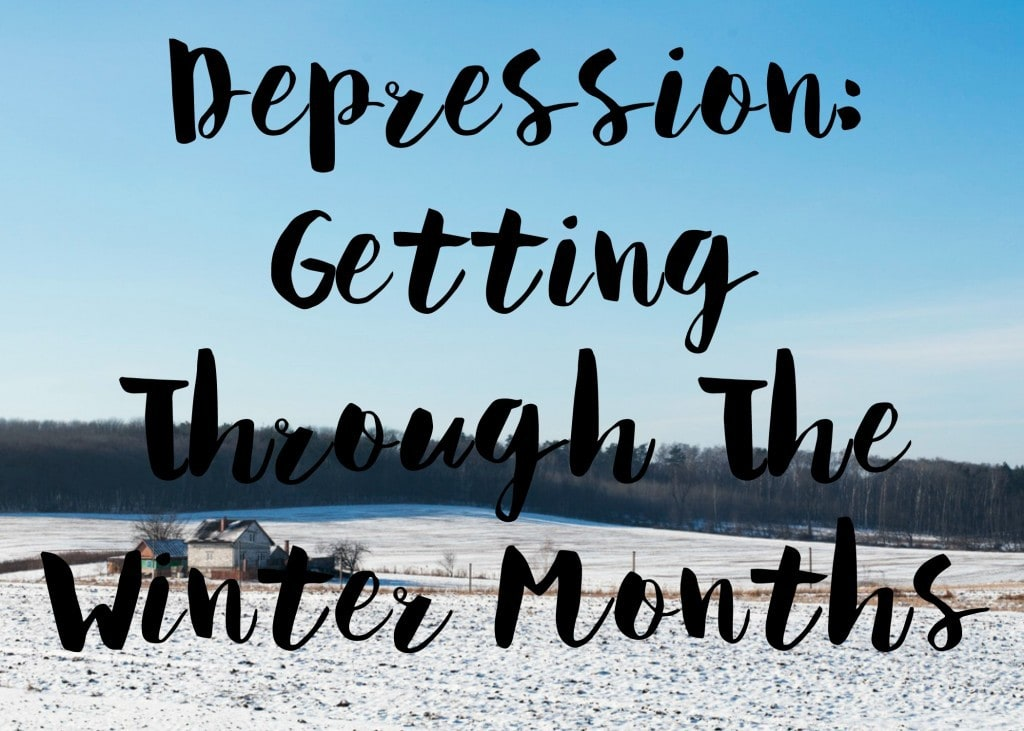 depression getting through the winter months