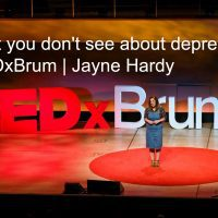 TEDx: Hearing Your Depression Story In My Words