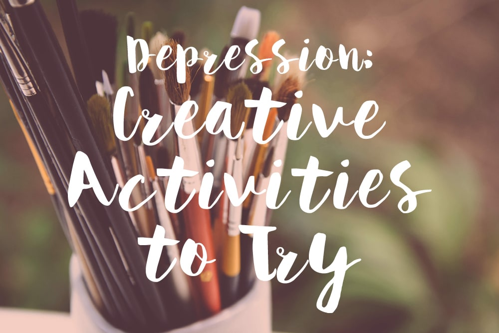 Depression - creative activities to try