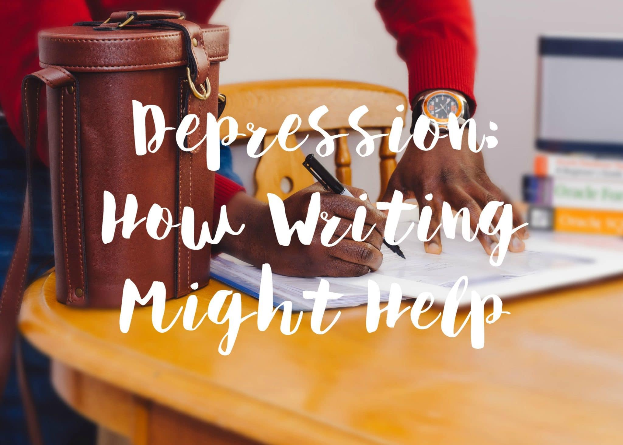 Writing helps with depression