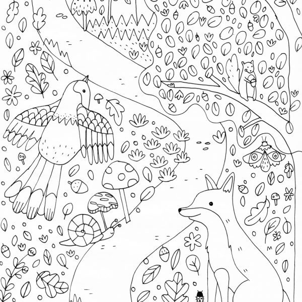 A4 Printable Colouring Sheet - The Blurt Foundation