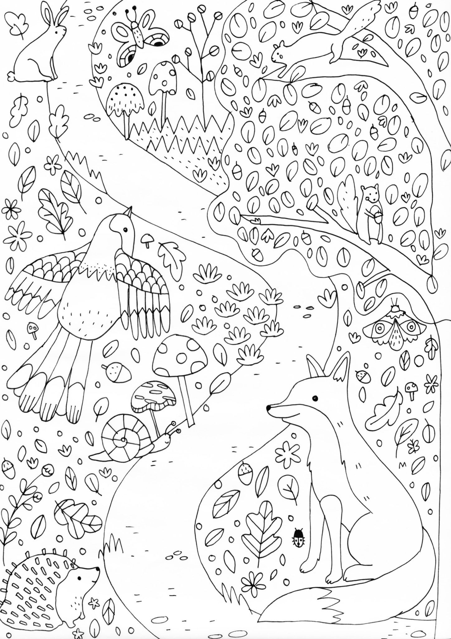 A4 Printable Colouring Sheet The Blurt Foundation