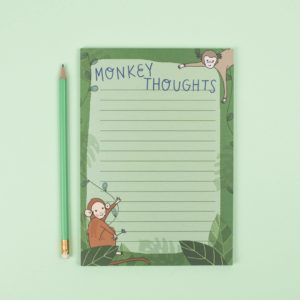 A5 Monkey Thoughts Notepad
