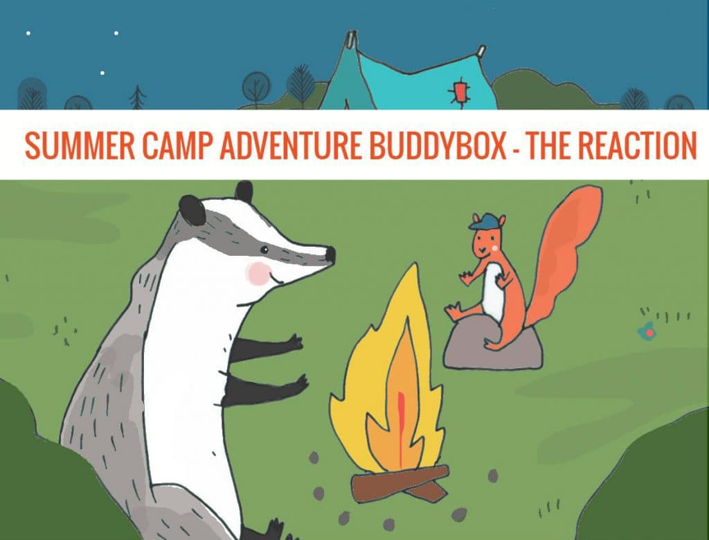 Our 'Summer Camp Adventure' BuddyBox - The Reaction