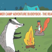 Summer Camp Adventure BuddyBox Reaction