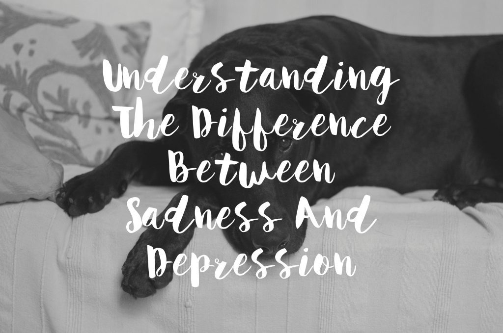 Understand The Difference Between Depression And Sadness