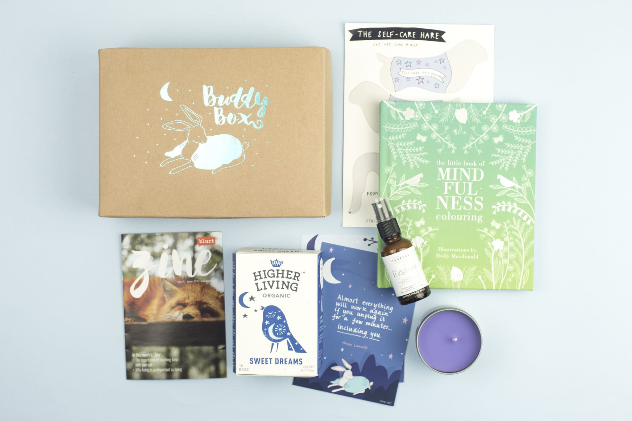 Our 'And Breathe...' BuddyBox - The Reaction