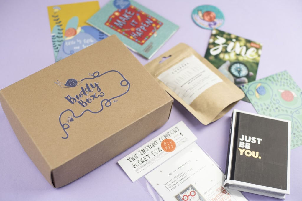 Our 'One Step At A Time' BuddyBox - The Reaction
