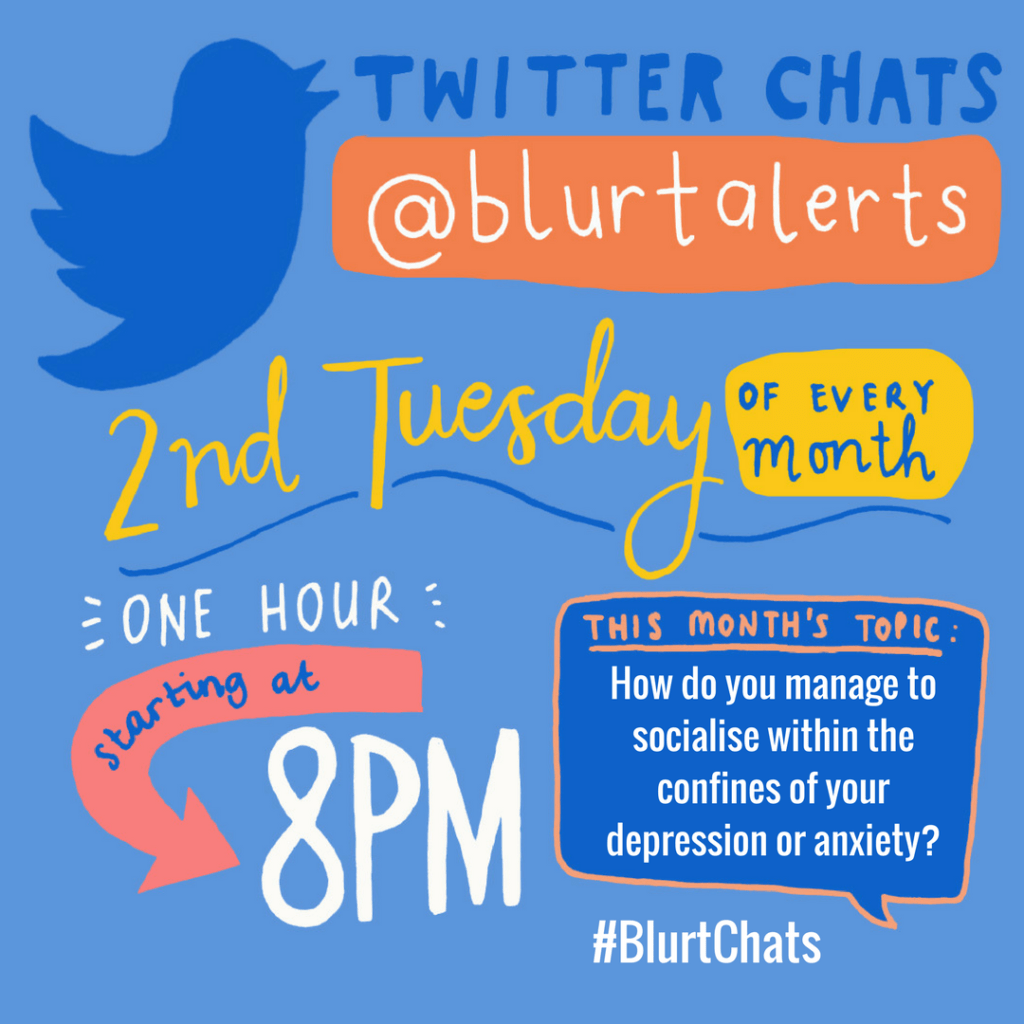 #BlurtChats We Asked: How Do You Manage To Socialise Within The Confines Of Your Depression Or Anxiety?