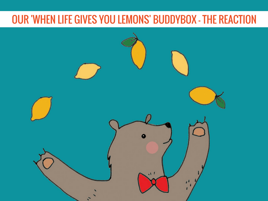 Our 'When Life Gives You Lemons' BuddyBox - The Reaction