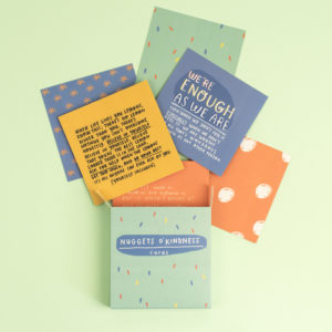 Nuggets O' Kindness Cards