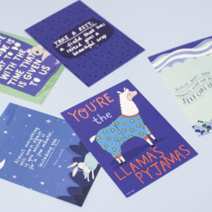 Blurt x Stacie Swift Postcard Packs
