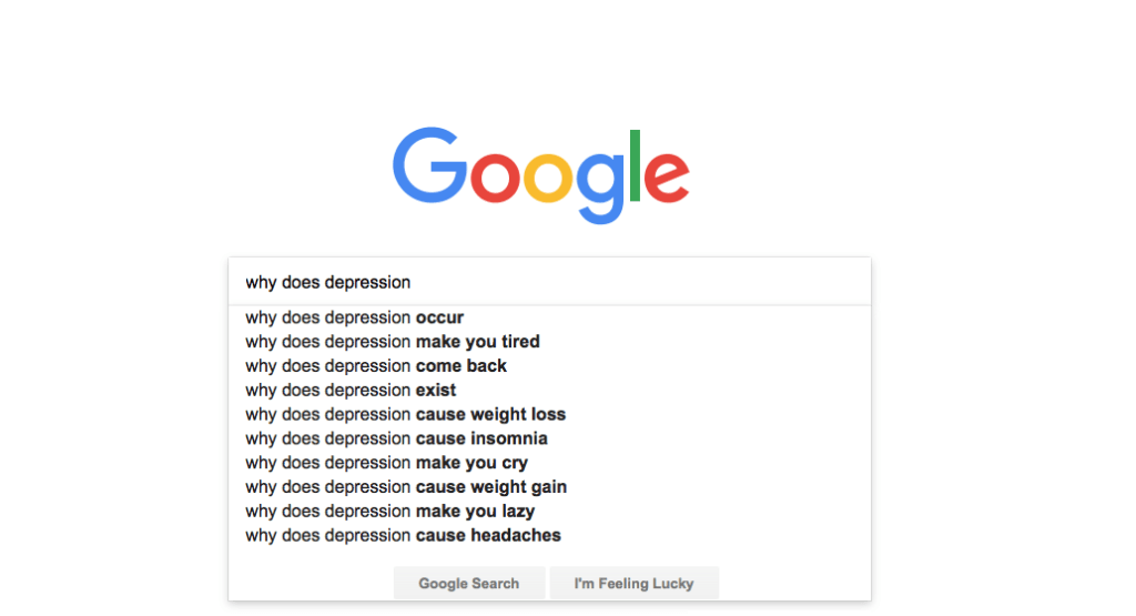 We've Answered 10 Popular Google Searches: Why Does Depression...?