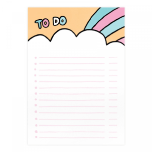 Gemma Correll To Do Rainbow A5 Notepad