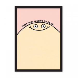 Gemma Correll Everything Is Going To Be Ok A4 Riso Print