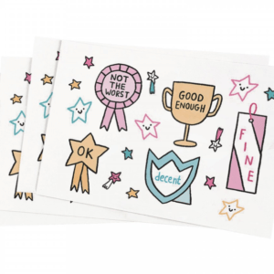 Gemma Correll Self-Care Awards Stickers