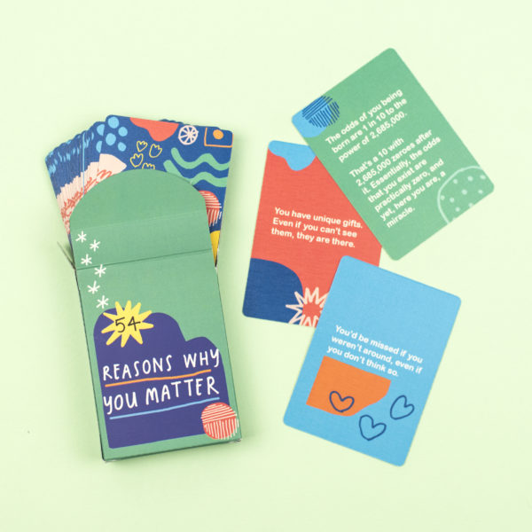 54 Reasons Why You Matter Card Pack