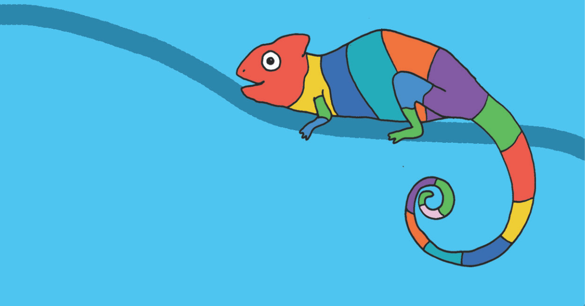 The 'You're One In A Chameleon' BuddyBox - The Blurt Foundation