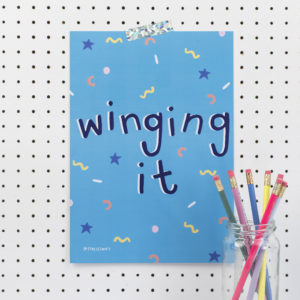 Limited Edition Stacie Swift Winging It A4 Print