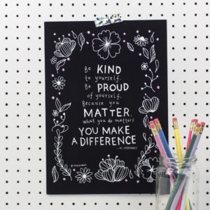 Limited Edition Stacie Swift You Make A Difference A4 Print