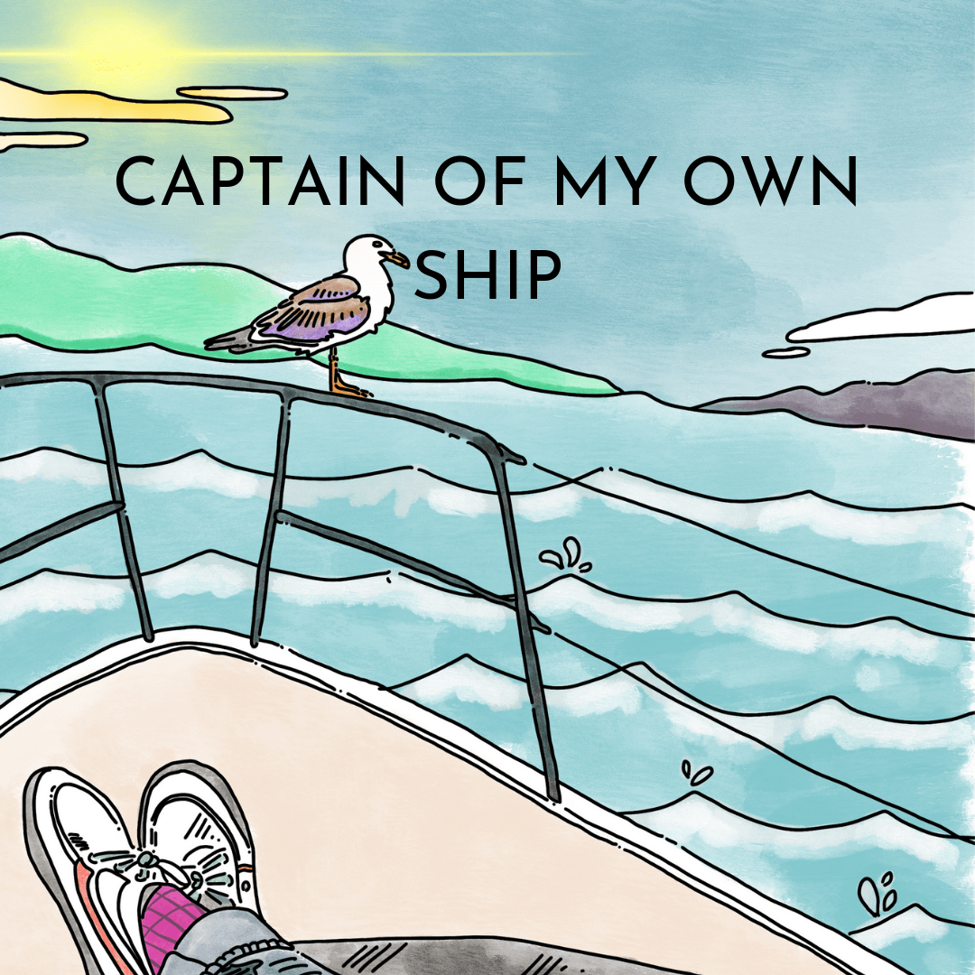 The 'Captain Of My Own Ship' BuddyBox - The Blurt Foundation