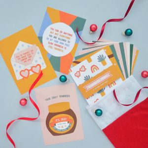 Self-Care Prints Christmas